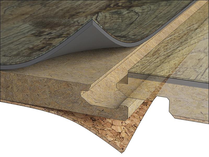 Detail podlahy