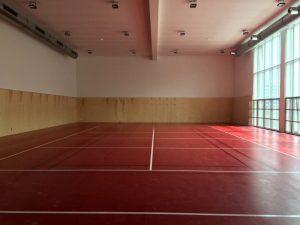 Sportovní podlaha tělocvična Chrudim